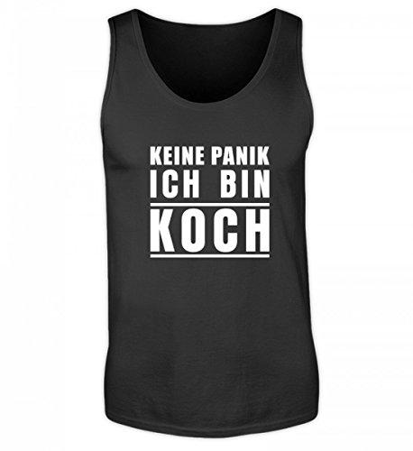 Galeriemode Keine Panik Ich Bin Koch – Herren Tanktop