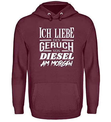 Diesel Auto Tuning Spruch Geschenk Freund Mann – Unisex Kapuzenpullover Hoodie