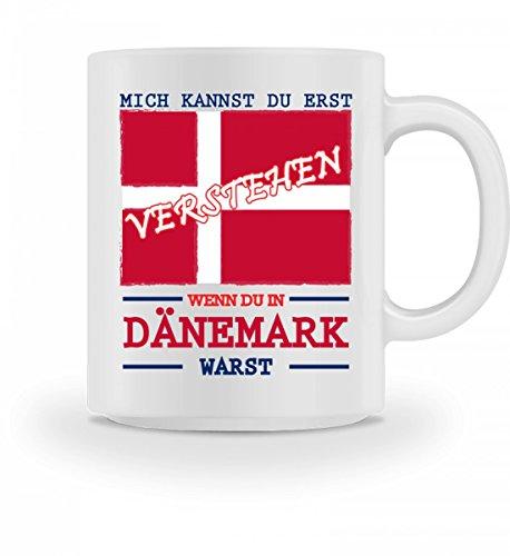 Tasse mit Spruch Mich kannst du erst verstehen wenn du in Dänemark warst Geschenk