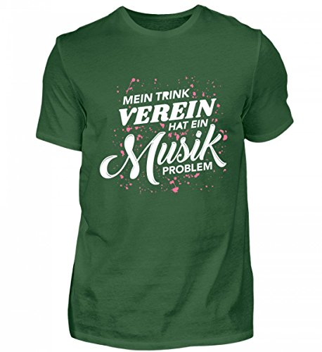 Galeriemode Mein Trinkverein Hat EIN Musikproblem – Herren Shirt