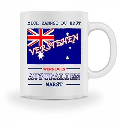 Lustige Tasse mit Spruch Wenn Du in Australien warst Geschenk für Mama Papa Chef Kollegen