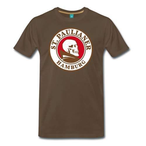 Spreadshirt St. Paulianer Totenkopf Mönch Männer Premium T-Shirt