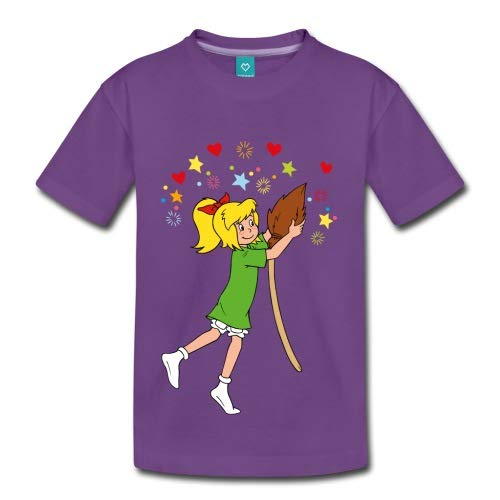 Spreadshirt Bibi Blocksberg Tanzt Mit Ihrem Besen Kartoffelbrei Kinder Premium T-Shirt