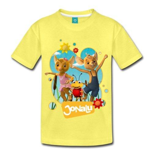 Spreadshirt JoNaLu Jo Naya Und Lu Tanzen Auf Der Wiese Kinder Premium T-Shirt