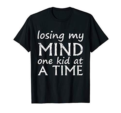 Ein Kind auf einmal meinen Verstand verlieren Lustige Eltern T-Shirt