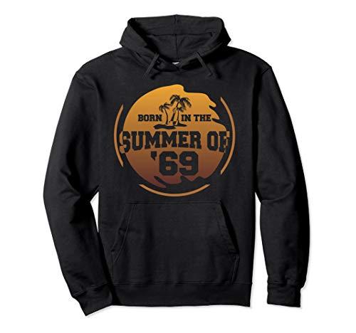 50. Geburtstags-Sommer von 69 Pullover Hoodie